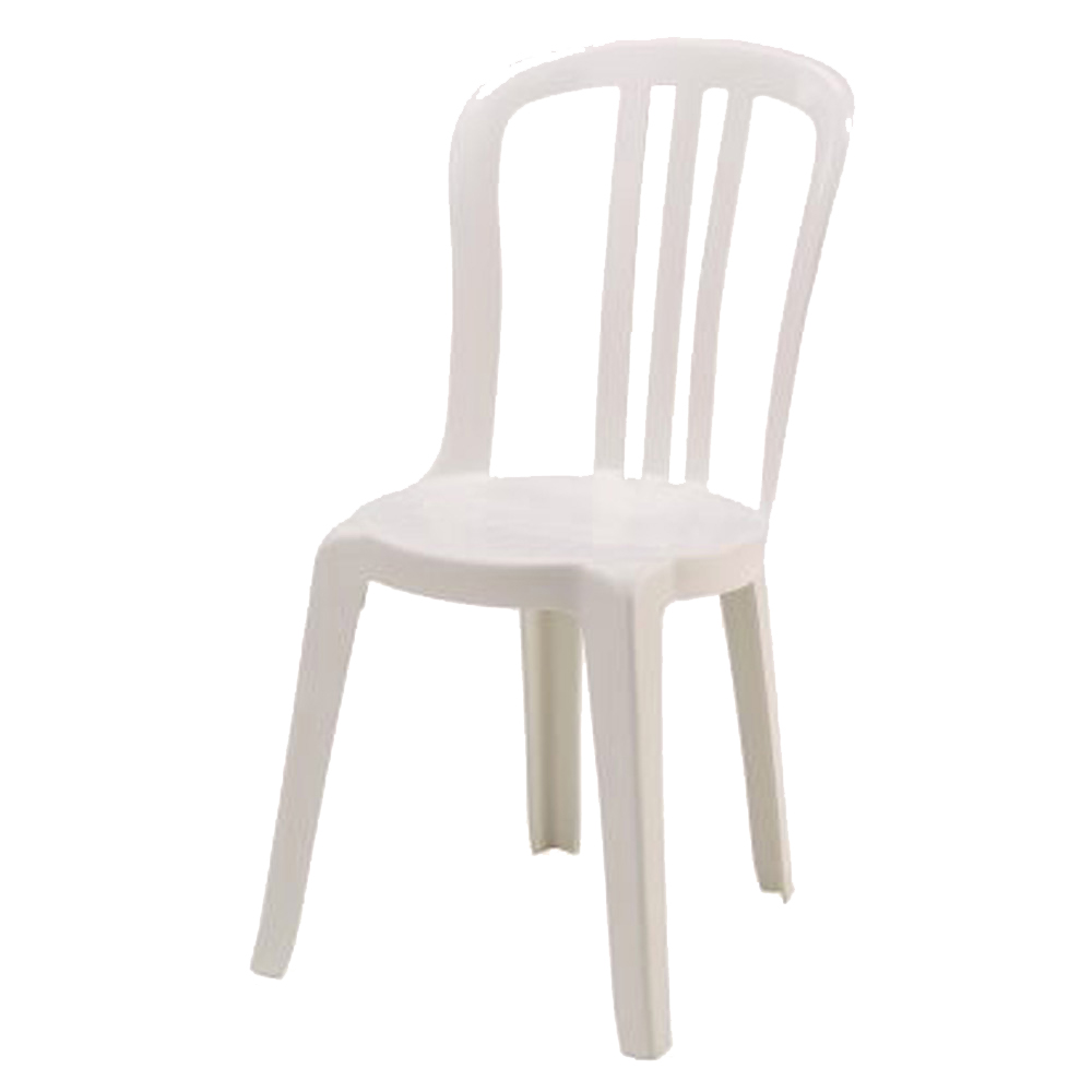 Chaise bistrot plastique for Chaise en plastique